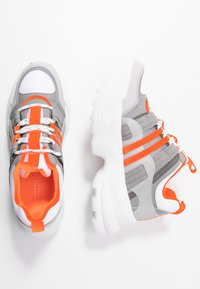 Topshop - COLORADO CHUNKY TRAINER - Trainers - orange - 3