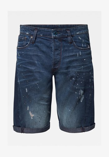 SCUTAR 3D - Denim shorts - worn in taint destroyed