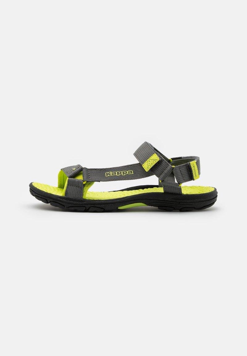 Kappa - UNISEX - Walking sandals - grey/lime