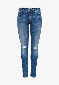 ONLY - CARMEN  - Jeans Skinny Fit - medium blue denim - 3