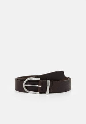 BEVAN BELT - Cintura - dark brown