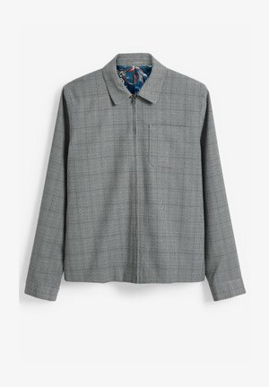 CHECK SHACKET - Blazer jacket - light grey