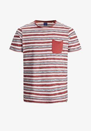 Print T-shirt - slate rose