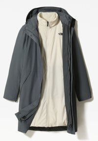The North Face - W RECYCLED SUZANNE TRICLIMATE - Waterproof jacket - vanadis gry/vintage white - 1