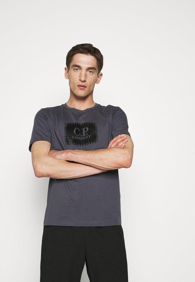 SHORT SLEEVE - T-shirt imprimé - ombre blue