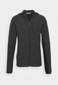 Icebreaker - MENS DESCENDER ZIP HOOD - Training jacket - grey - 4