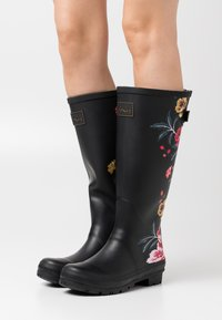 Tom Joule - WELLY PRINT - Wellies - black - 0
