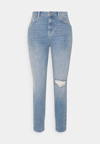 PCLEAH - Slim fit jeans - light blue denim