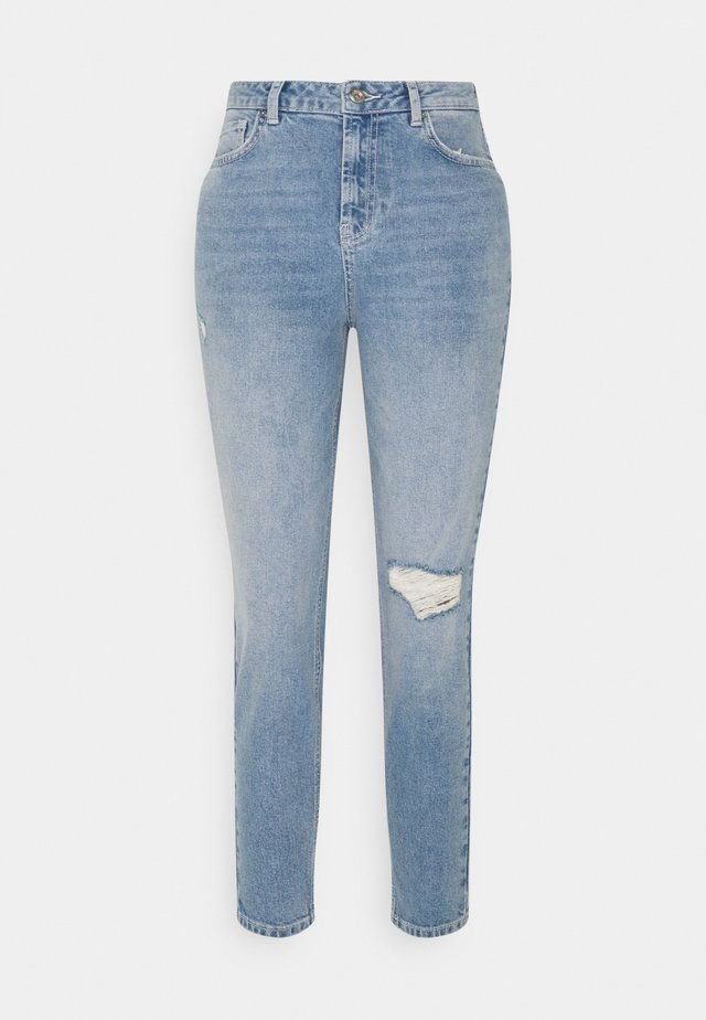 PCLEAH - Slim fit jeans - light blue denim