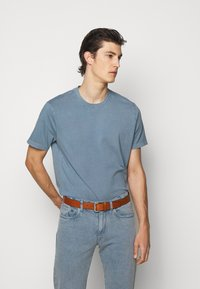 Boglioli - Basic T-shirt - blue denim - 0