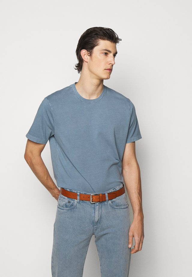 Basic T-shirt - blue denim