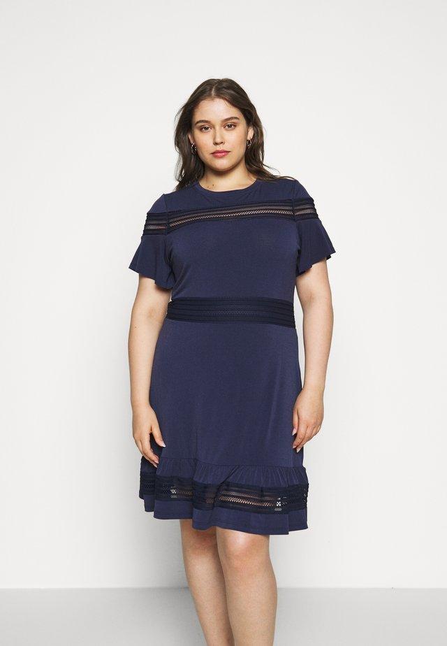 MIX DRESS - Denní šaty - true navy