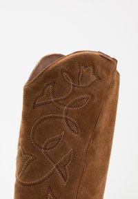 mtng - CENTA - Cowboy/Biker boots - tan - 2