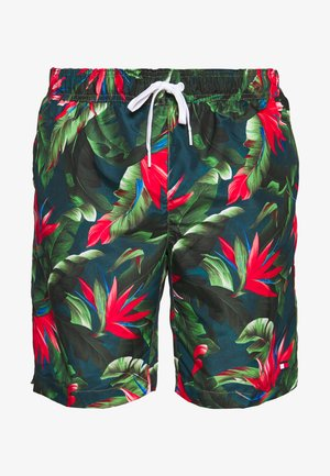 MEDIUM DRAWSTRING - Swimming shorts - green