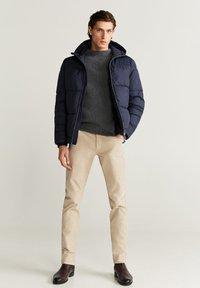 Mango - THERMO-ANORAK - Winter jacket - dunkles marineblau - 1