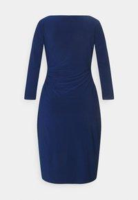 Lauren Ralph Lauren - MID WEIGHT DRESS - Shift dress - twilight royal - 7
