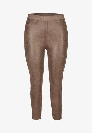 Trousers - walnuss