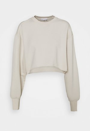 CROPPED AND COOL - Collegepaita - bone