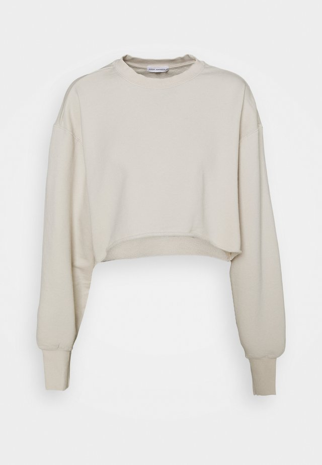 CROPPED AND COOL - Sweater - bone