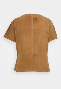 DEPECHE - T-shirt basic - sand - 1