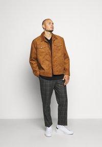 River Island - Suit trousers - grey dark - 1