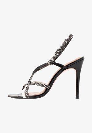 THEANAA - High heeled sandals - black