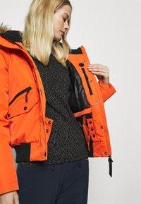 Superdry - EVEREST SNOW - Skijakke - havana orange - 8