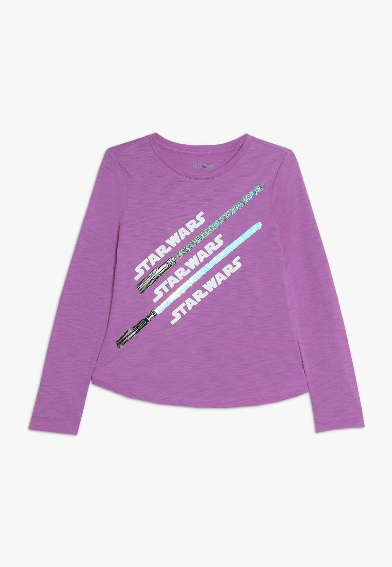 GAP - GIRL STAR WARS - Maglietta a manica lunga - budding lilac