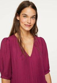 OYSHO - Day dress - dark purple - 3
