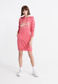Superdry - CORE GRAPHIC - Day dress -  pink - 1