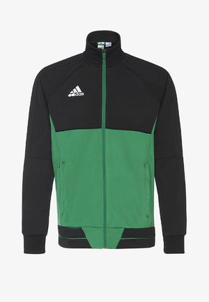 TIRO 17  - Träningsjacka - black/green/white