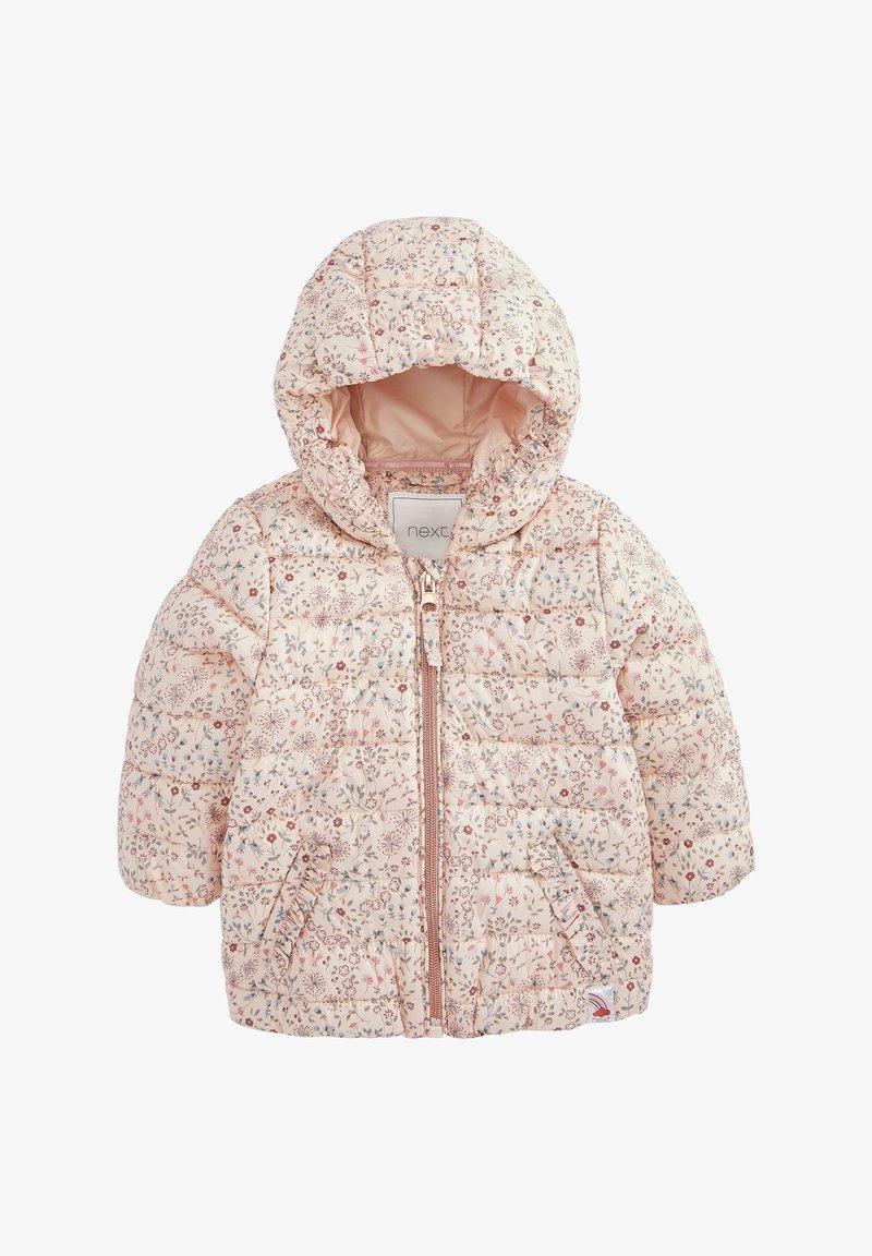 Next - DITSY PRINT - Winter coat - pink
