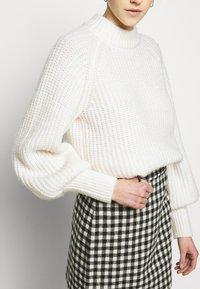 2nd Day - CHARITON CHECK - Mini skirt - black - 3