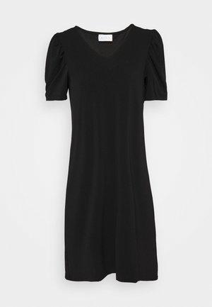 VIBORNEO V NECK DRESS - Day dress - black