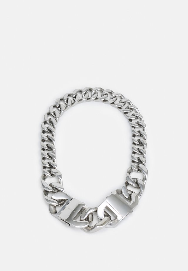FUSE UNISEX - Halsband - silver-coloured