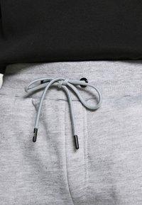 Brave Soul - CHELSEA - Pantaloni sportivi - grey marl/jet black - 5