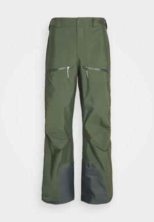 PURPOSE PANTS - Talvihousut - utopian green