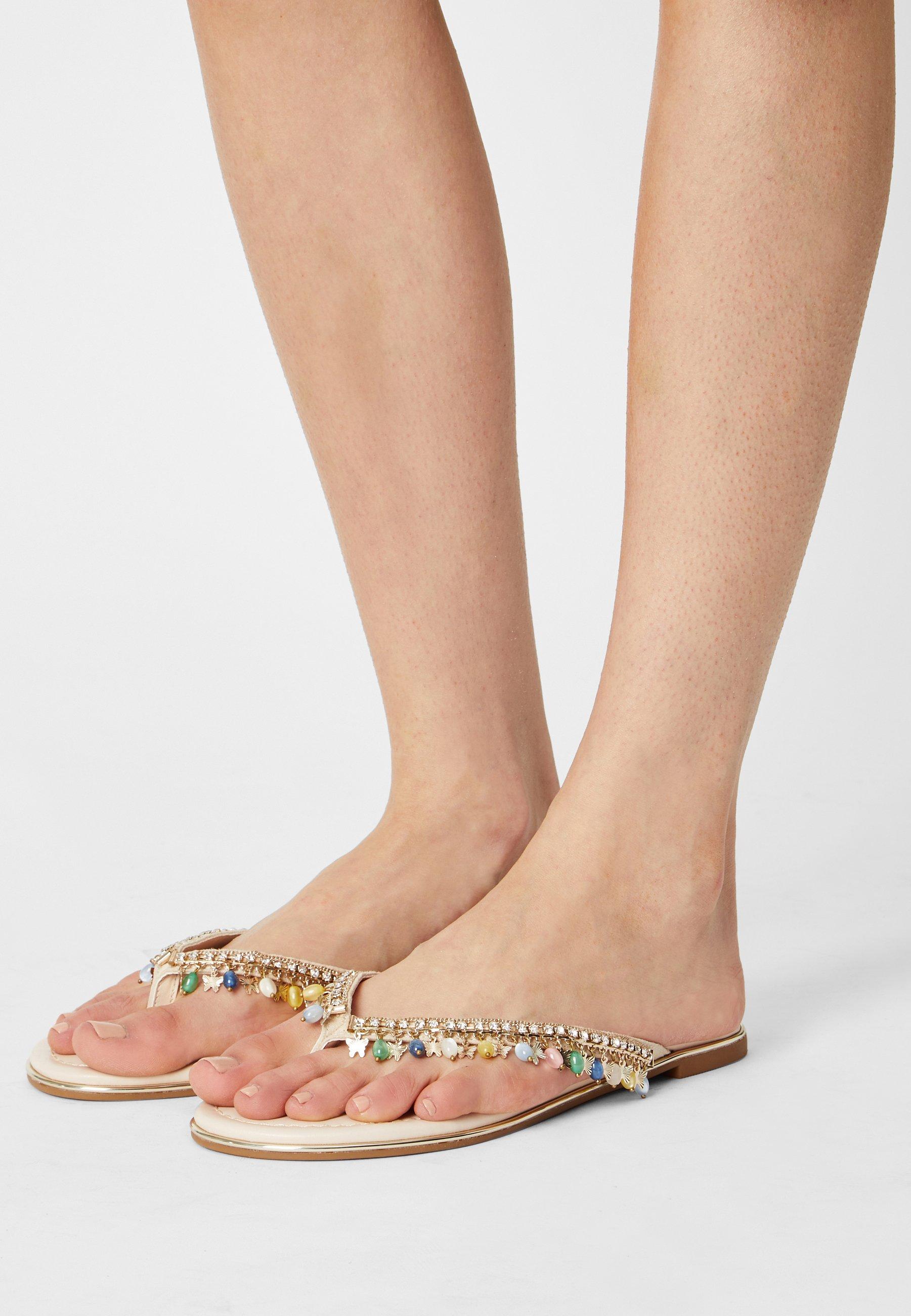 Women VEGAN RAISA CHARMS - T-bar sandals