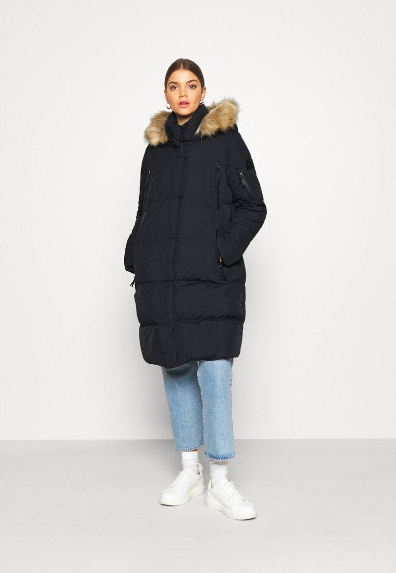 Superdry - LOUISA COAT - Down coat - blue graphite