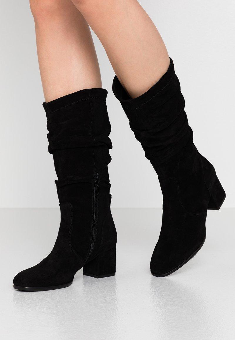 Lamica - QBETA - Vysoká obuv - nero