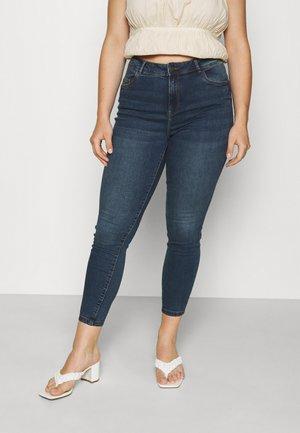 NMAGNES - Jeans Skinny Fit - medium blue denim