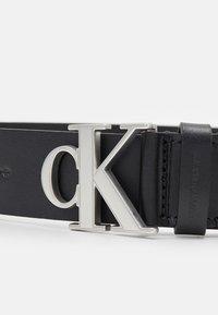 Calvin Klein Jeans - LOGO TEXT  - Pasek - black - 3