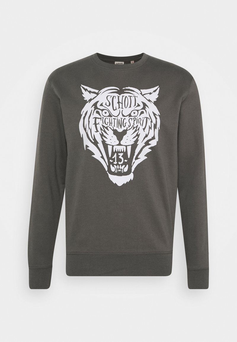 Schott - Sweatshirt - anthracite
