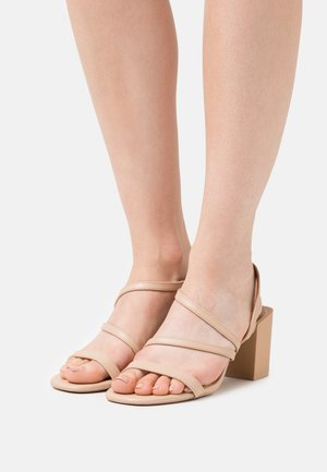 ASTEANI - Sandals - light pink