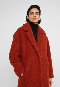 HUGO - MOLGA - Classic coat - rust/copper - 4