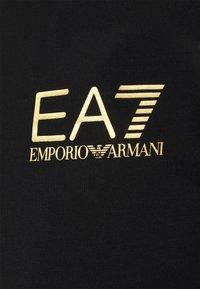 EA7 Emporio Armani - Polo shirt - black gold - 6