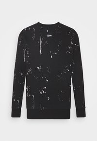 PAINT SPLAT CREW - Sweatshirt - black