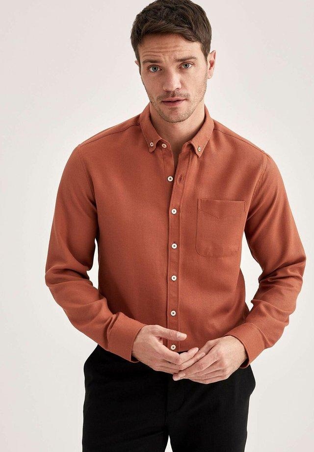 Zakelijk overhemd - orange