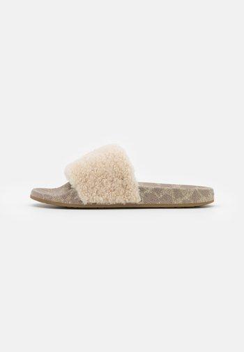 ULLA SLIDE - Mules - ivory