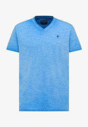 T-shirt basic - electric blue